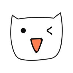 Doodle Cat Stickers