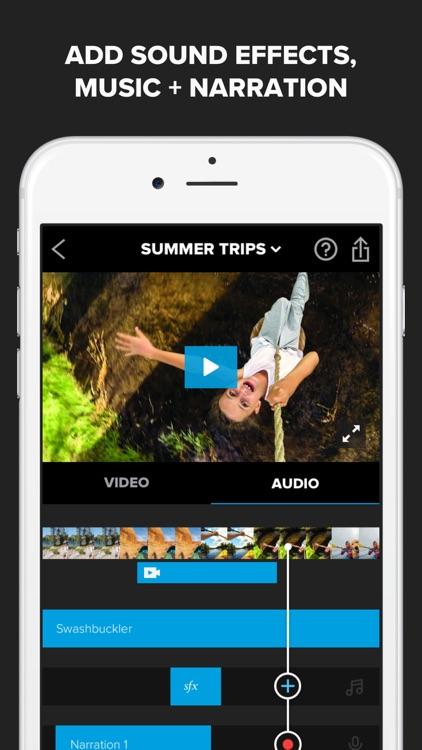 Splice - Video Editor + Movie Maker by GoPro screenshot-4