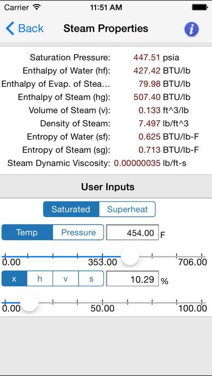 HVAC Pipe Sizer - Steam screenshot-4