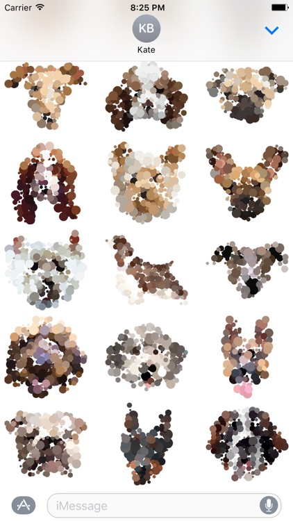 Dotted Dogs Stickers screenshot-3