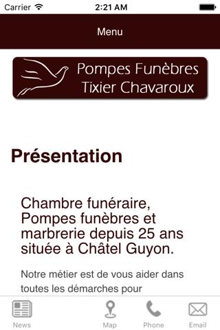 Pompes Fun. Tixier Chavaroux screenshot 1