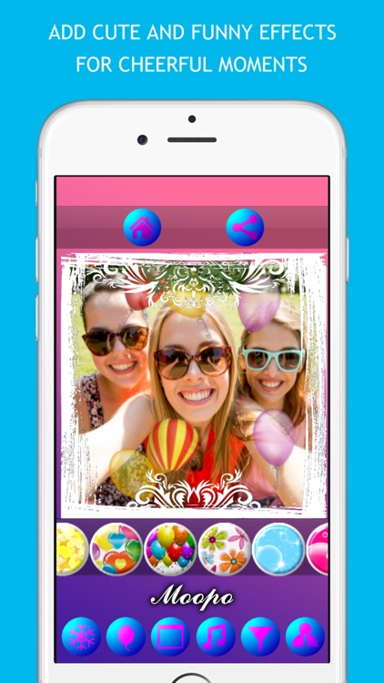 Moopo – Animated Photo Collage Maker & Filter Camera & Selfie Editor screenshot-3