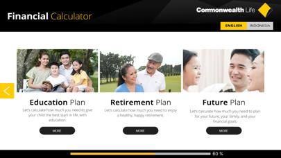 Commonwealth Life Financial Calculator screenshot one