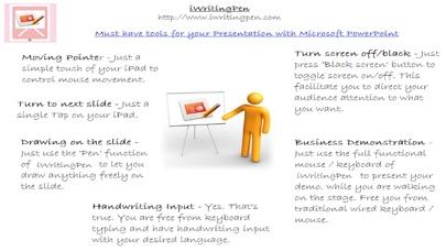 iWritingPen 演示文稿遙控器屏幕截圖1