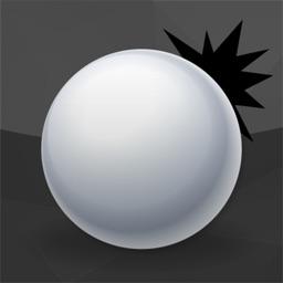 白球跳跃-极致虐心抓狂黑白球球大作战