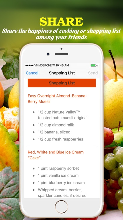 Yummy Fruit Recipes Pro ~ Best of delicious fruit recipes screenshot-4