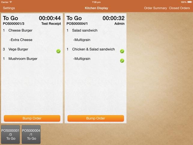 Mobi POS - Kitchen Display on the App Store