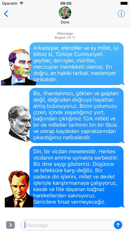Atatürk Sticker screenshot-3