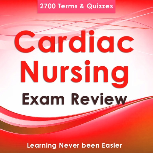 Cardiac Nursing Test Bank-2700 Flashcards & Q&A Icon
