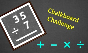 Chalkboard Challenge : Mental Arithmetic