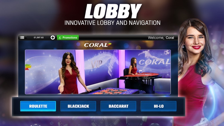 Coral Live Casino - Roulette, Baccarat & Blackjack screenshot-2