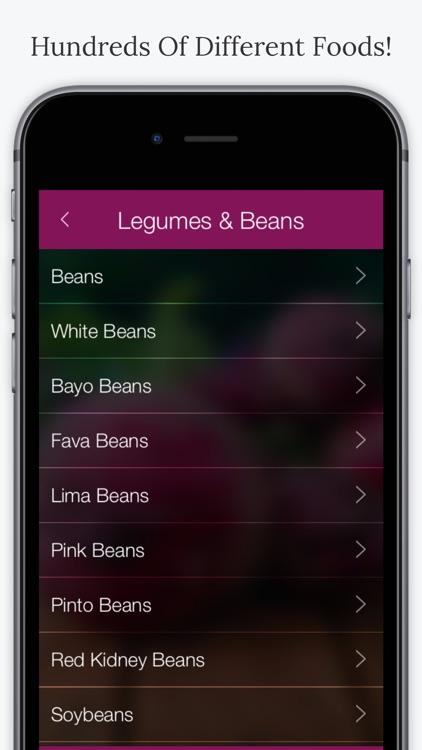 Fiber In Foods screenshot-3