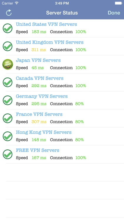VPN Express - Free Mobile VPN screenshot-2