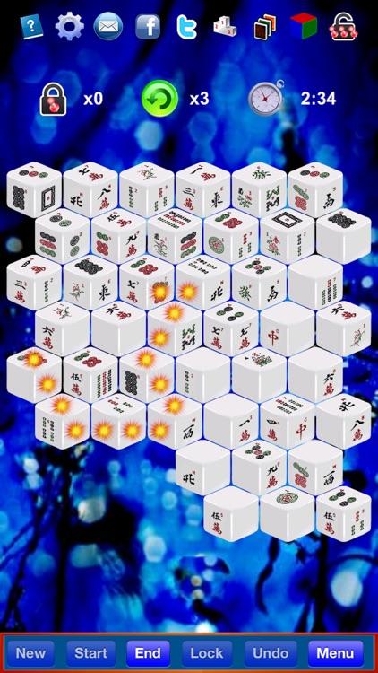 Mahjong 3D Solitaire Z screenshot-4