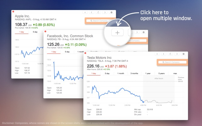 Market Watch on the MacAppStore