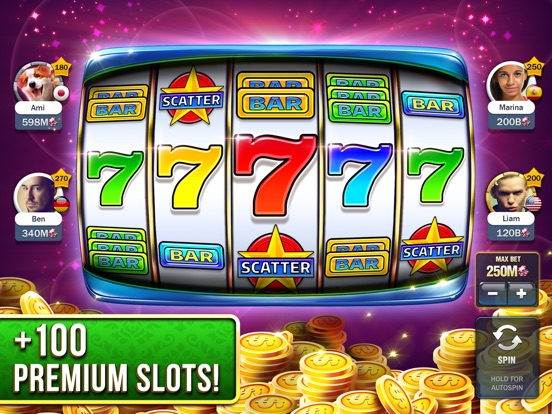 Slot Machines - Huuuge Casino iPad