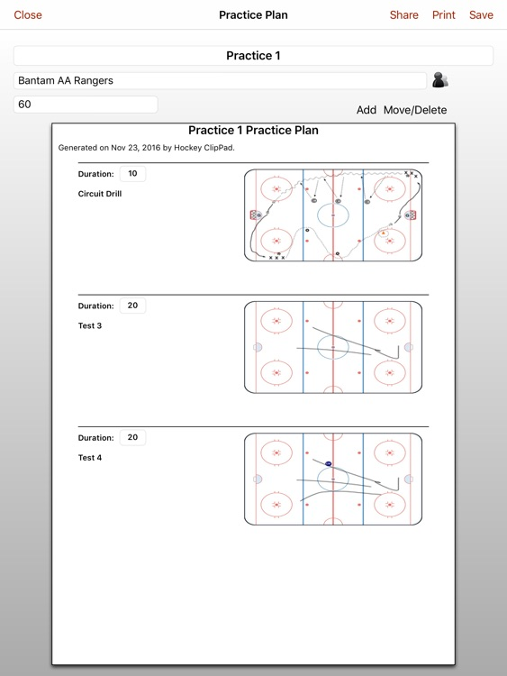 Hockey ClipPad screenshot-3