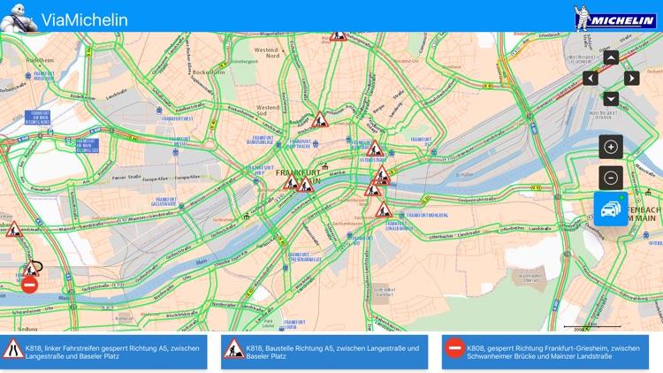 ViaMichelin : Map - Traffic