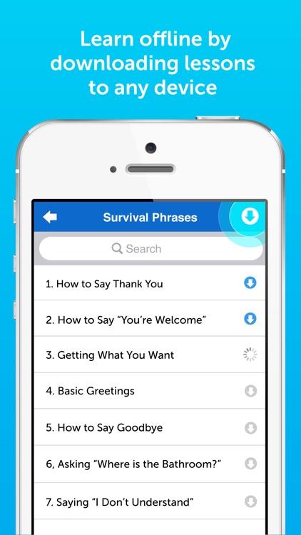 Innovative 101: Learn 34 Languages Spanish English screenshot-4
