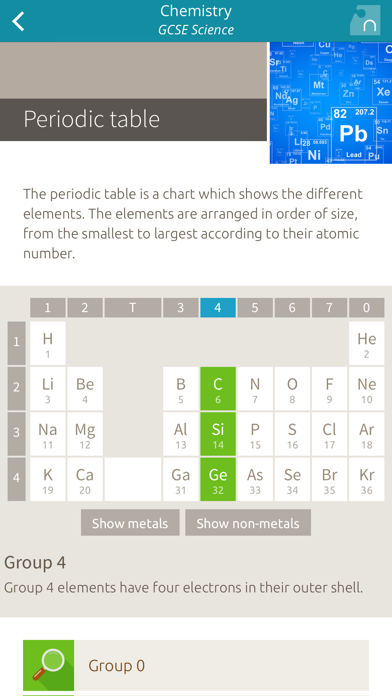 Chemistry: GCSE Science screenshot two