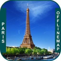 Paris_France Offline maps & Navigation