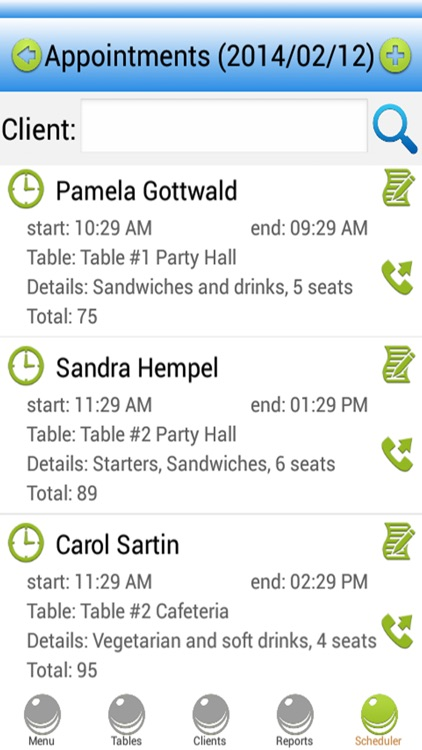 Restaurant Scheduling Software screenshot-4