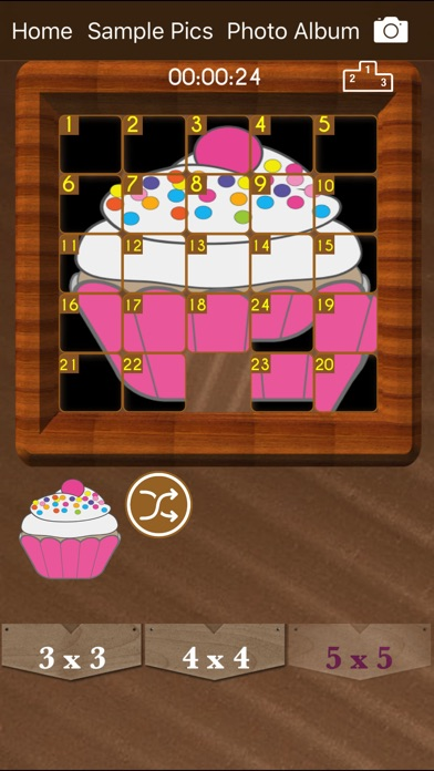 Sliding Puzzle : Tile Game screenshot 4