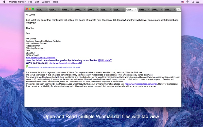 Winmail Viewer - Open dat file | App Price Drops