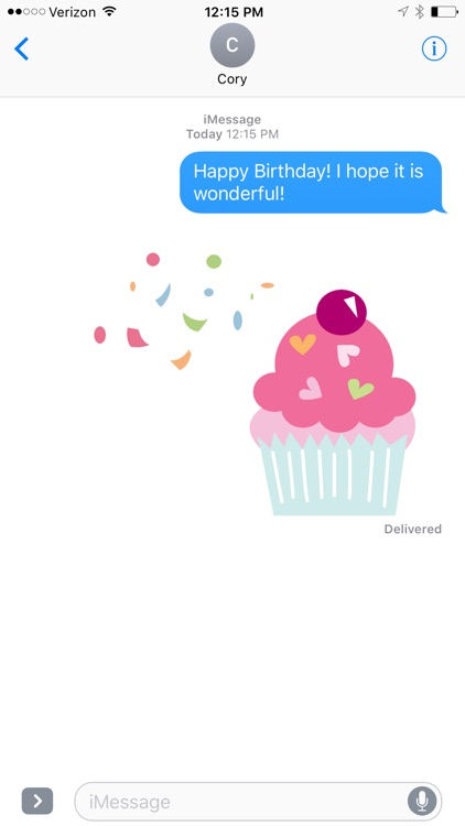 Birthday Design Sticker Pack screenshot-3