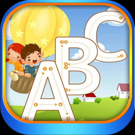 ABC English Alphabet Tracing for boy and girl