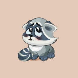 Raccoon Stickers