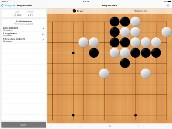 Tsumego Pro (Игра Go) на iPad