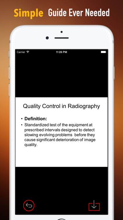 Radiography Glossary and Flashcard,Study Guide screenshot-1