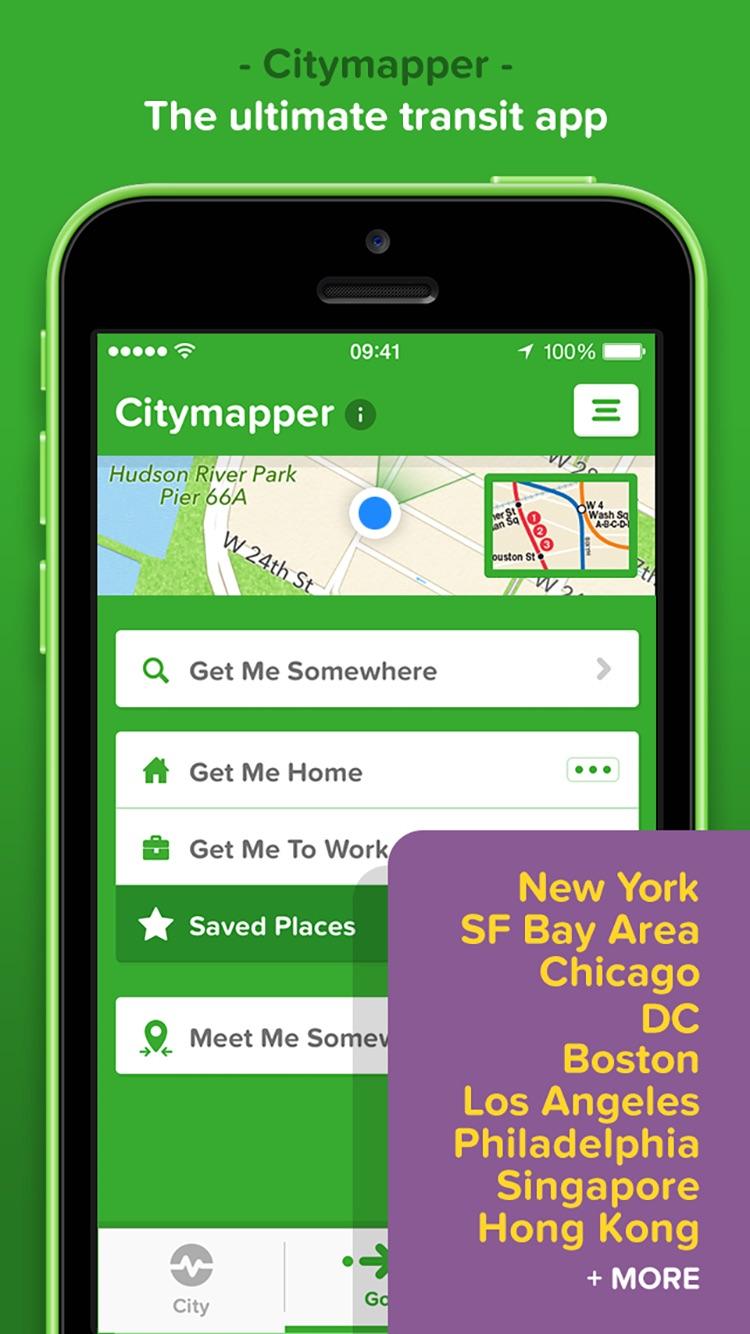 Citymapper - the Ultimate Transit App