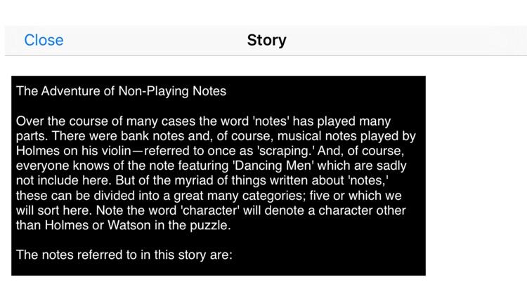 Sherlocks Logic Puzzles 3o screenshot-3