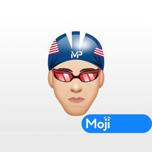 Michael Phelps ™ by Moji Stickers