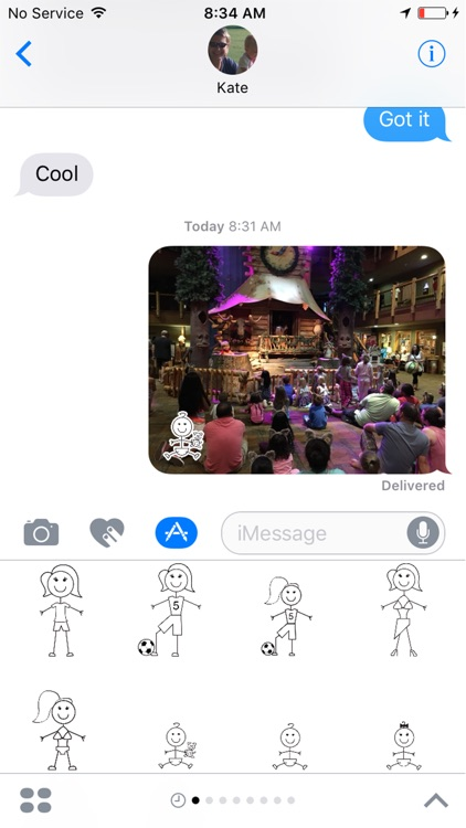 Stick Figs for iMessage