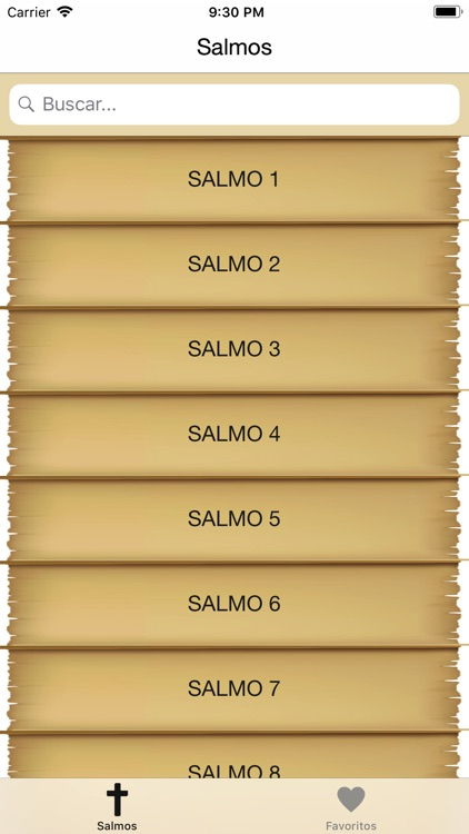 Biblia: Salmos con Audio screenshot-0