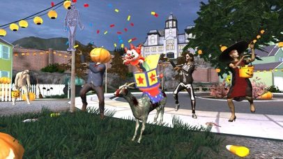 Screenshot from Goat Simulator GoatZ