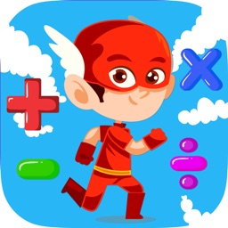 Super Hero Math Games