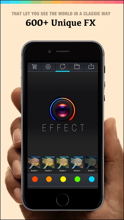 Effect 360 Pro - Best Photo Editor To Add Amazing Digital Art Stylish Camera Filters Effects screenshot-4