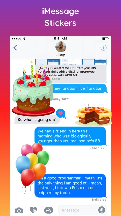 HBD Happy Birthday Sticker App screenshot-3