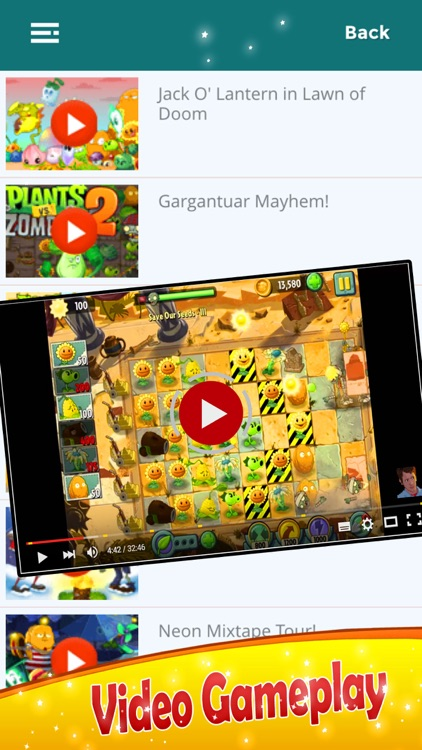 Guide for Plants Vs  Zombies 2 - Cheats and Video All Level screenshot-3