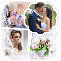 Wedding Photo Frames – Collage Maker with Pic.ture Layouts for Love Scrapbook