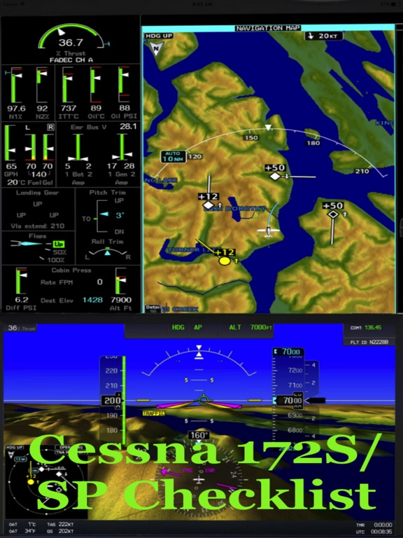Cessna 172ssp checklist app price drops screenshot 1 for cessna 172ssp checklist gumiabroncs Choice Image