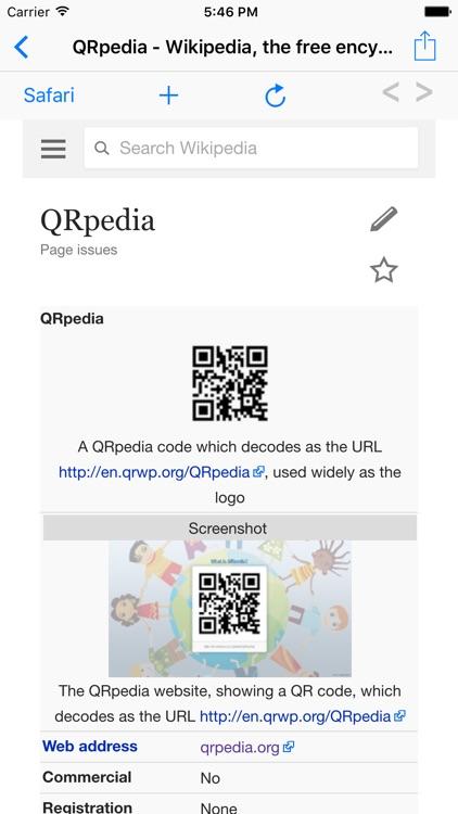 QRpedia