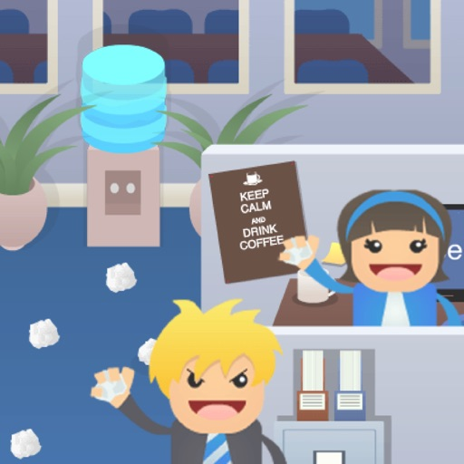 Office Fight : Time to de-stress!