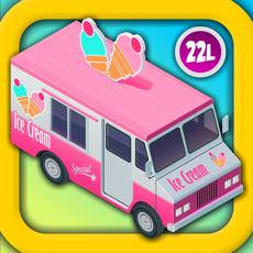 Activities of Kids Vehicles: Dora Ice Cream Truck! Counting Game