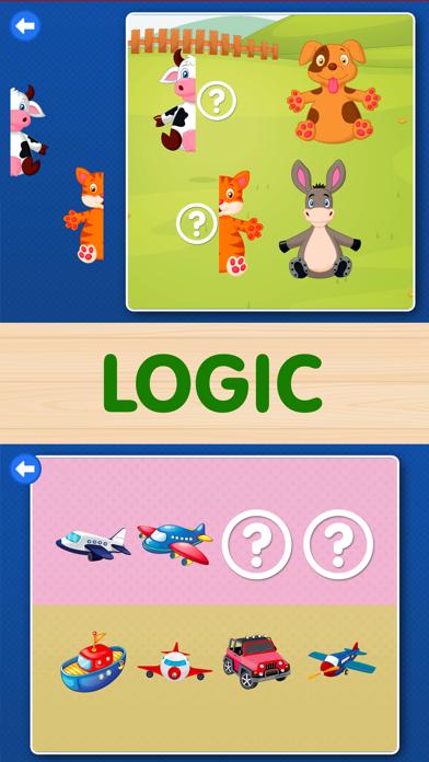 Toddler Kids Games: Boys, girls baby learning Free