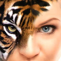 Eye Blender - Face Morph & Blends with Tiger, Leopard & Wolf for Instagram